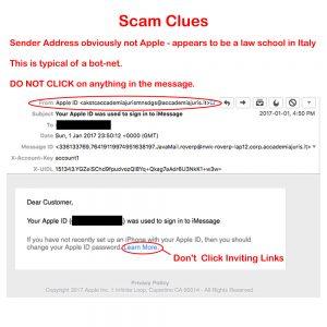 Scam Clues