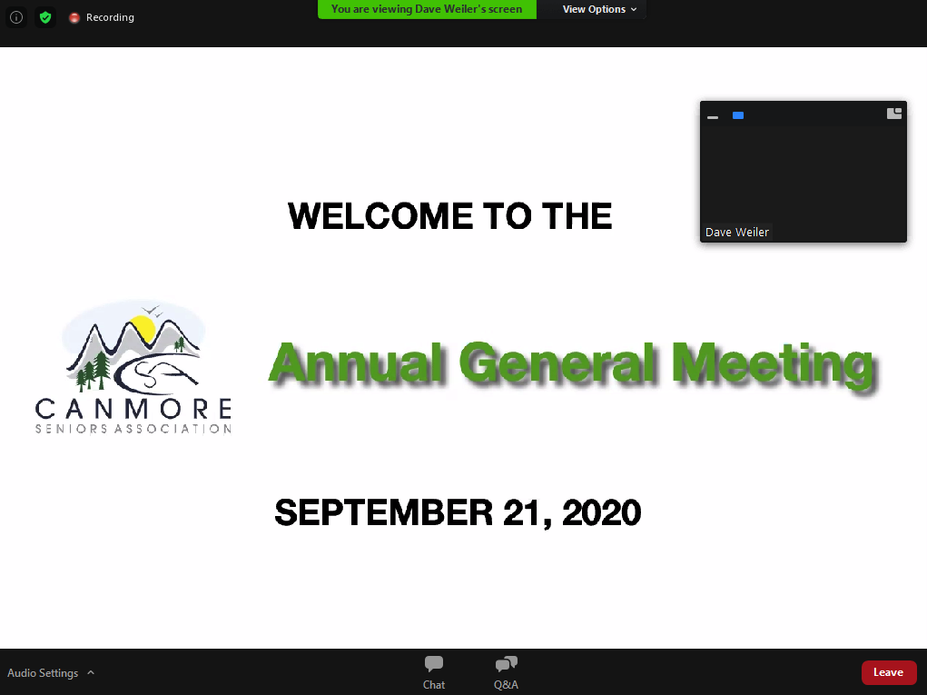 Welcome to AGM