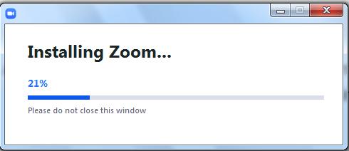 Installing Zoom